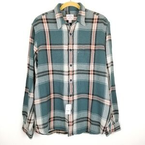 Brooks Brothers Red Fleece Line Plaid Shirt